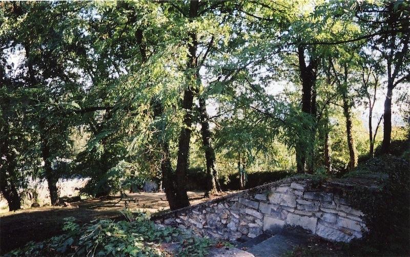 Partie du double cimetière abandonné de Forbin-Janson. </br>Photographie&nbsp;: Philippe Castagnetti.