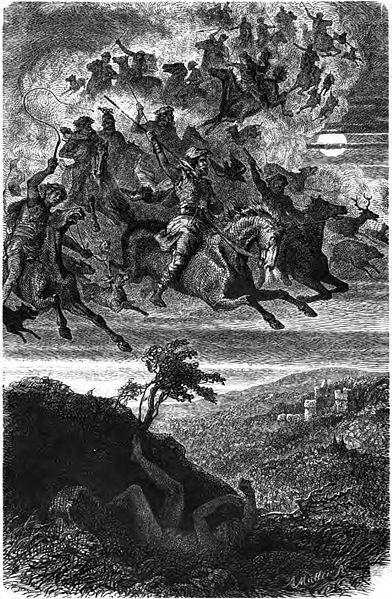 Wodan's wilde Jagd (La chasse sauvage de Wodan)